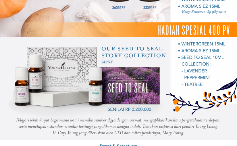 Promo Young Living Indonesia Oktober2018