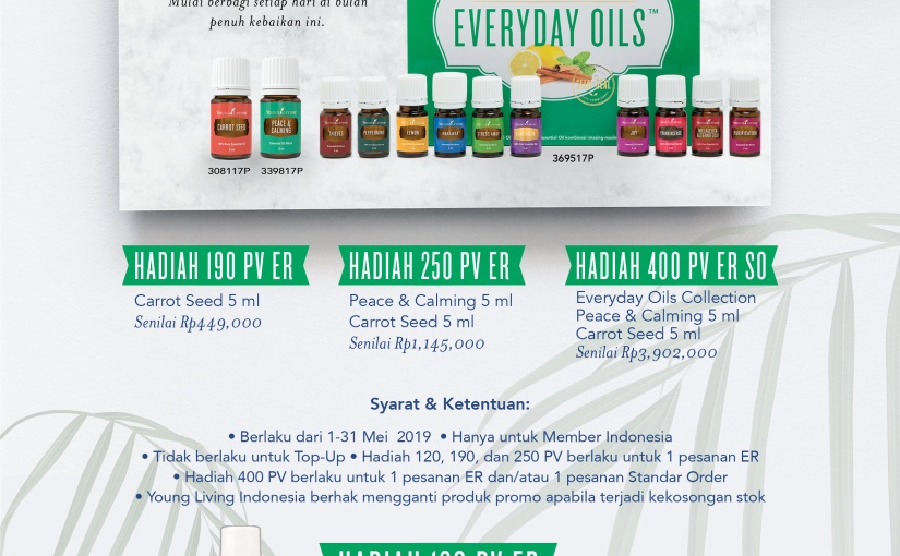 Young Living Indonesia : MayPromotion